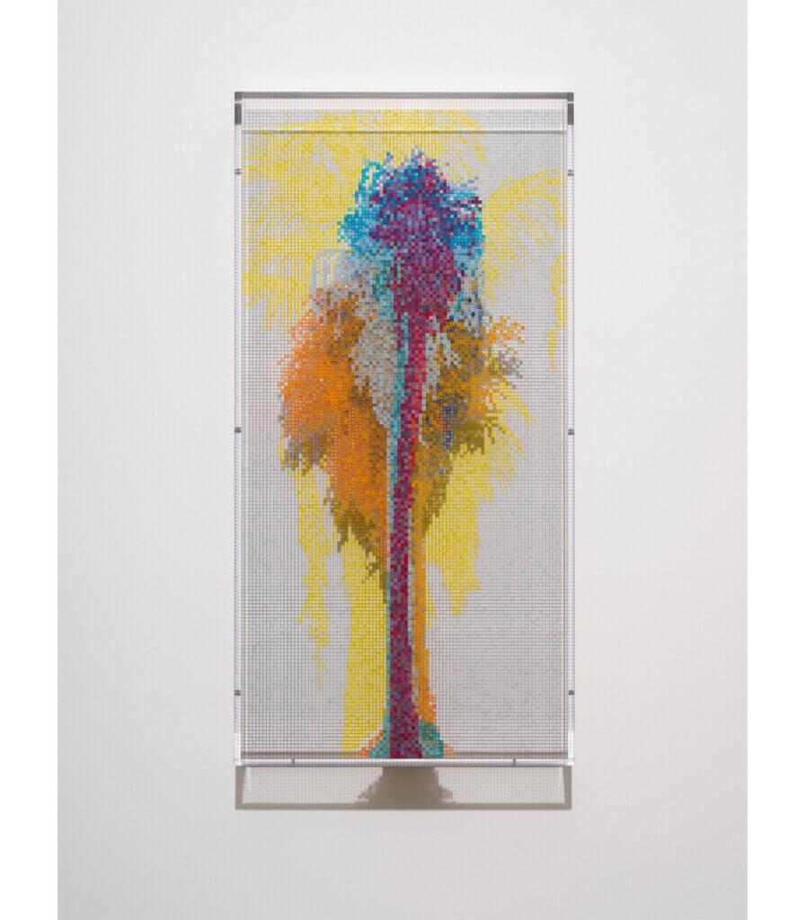Numbers and Trees: Palm Canyon, Palm Trees Series 3, Tree #7, Alabama