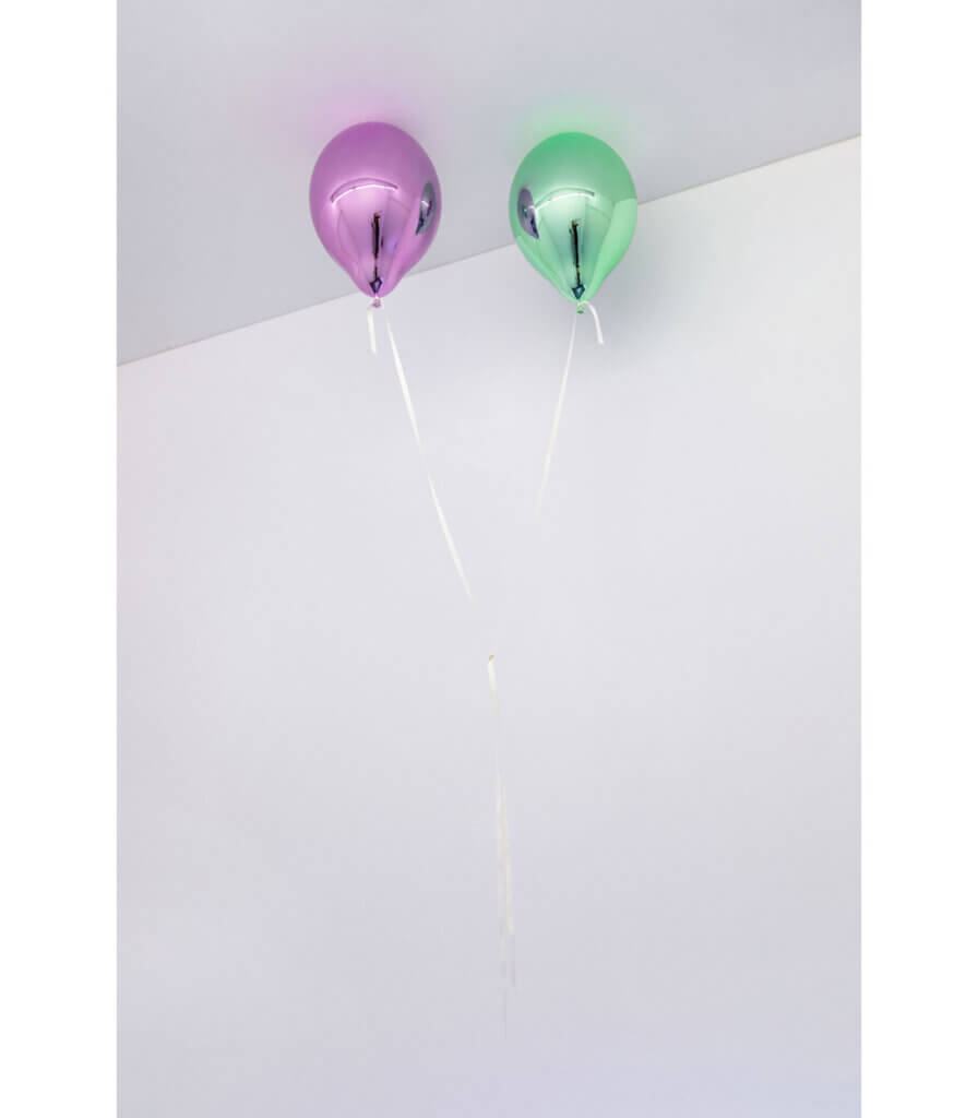 Wishes for Two (light purple and light green)