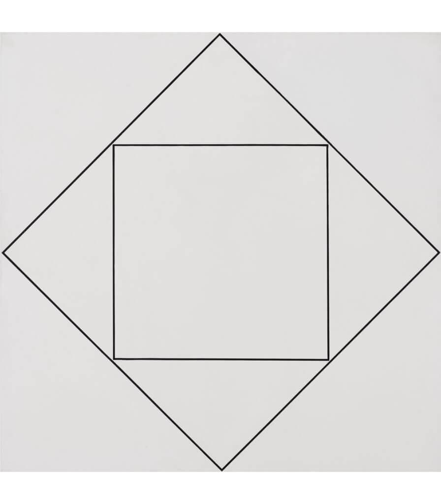 Carré inscrit dans un carré (Square Inscribed in a Square)