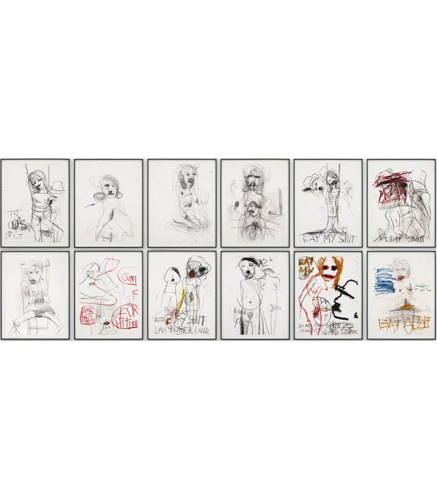 A&E, 12 Life Drawings, Tehachapi session